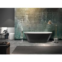 Kylpyamme Bathlife Balans 1700 musta/valkoinen