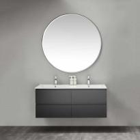 Kylpyhuoneryhmä peilillä Bathlife Eufori 1200 musta