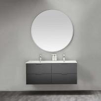 Kylpyhuoneryhmä peilillä Bathlife Glädje 1200 musta