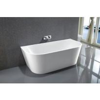 Kylpyamme Bathlife Frisk, 1600x750x580mm, valkoinen, Verkkokaupan poistotuote