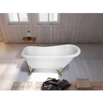Tassuamme Bathlife Ideal 802, 1530 mm, valkoinen/kulta, Verkkokaupan poistotuote