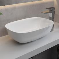 Pesuallas Bathlife Tålig ovaali, 320x460 mm, valkoinen