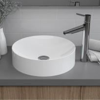 Pesuallas Bathlife Stabil pyöreä, Ø400 mm, valkoinen