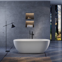 Kylpyamme Bathlife Trygg, 1700x750mm, valkoinen