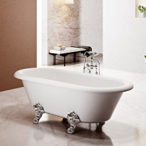 Tassuamme Bathlife Has, 1690x740mm, valkoinen