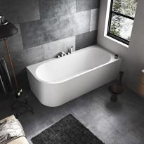 Kylpyamme Bathlife Själsro, oikea, 180 cm