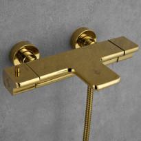 Ammetermostaatti Bathlife Stimma Tapp, messinki, Verkkokaupan poistotuote
