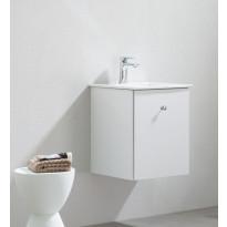 Allaskaappi pesualtaalla Bathlife Fröjd, 420x420x500mm, valkoinen, Verkkokaupan poistotuote