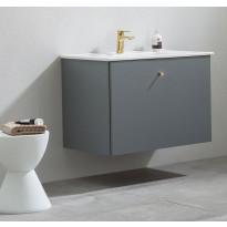 Allaskaappi pesualtaalla Bathlife Fröjd, 820x470x600cm, harmaa