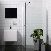 Suihkunurkka Bathlife Mångsidig Vital seinä + ovi, eri vaihtoehtoja