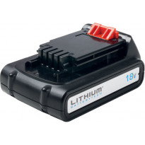 Lithium-ion akku BLACK+DECKER BL1518, 18V, 1,5Ah