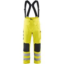 Sadehousut Blåkläder Highvis 1306, taso 3, huomio keltainen