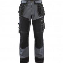 Riipputaskuhousut Blåkläder 1500 X1500, harmaa/musta