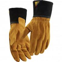 Lämmönkestävät työhanskat Blåkläder 2840 nahkaa, ruskea/tummanharmaa