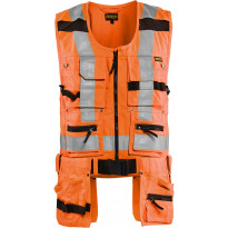 Riipputaskuliivi Blåkläder Highvis 3032, huomio oranssi