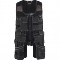 Riipputaskuliivi Blåkläder 3119 X1900, musta