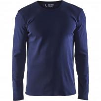Pitkähihainen t-paita Blåkläder 3314, mariininsininen