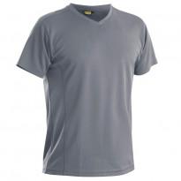 Functional T-paita, UV-suojattu, harmaa