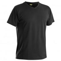 Functional T-paita, UV-suojattu, musta