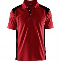 Pikeepaita Blåkläder 3324, punainen/musta