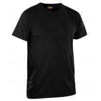 T-paita 2-pack, musta