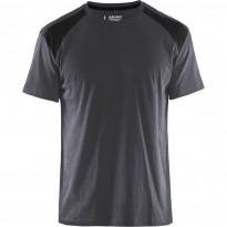 T-paita Blåkläder 3379, grafiitinharmaa/musta