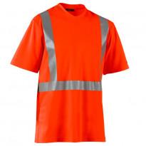 Highvis T-paita, UV-suojattu, oranssi