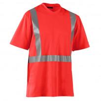 T-paita Highvis, UV-suojattu, punainen