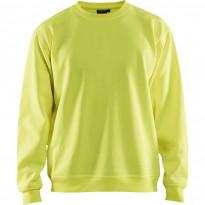 Collegepaita Blåkläder 3401, keltainen