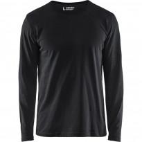 Pitkähihainen t-paita Blåkläder 3500, musta