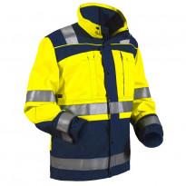 Highvis takki, keltainen/mariininsininen (402913703388)