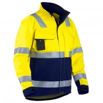 Highvis takki, keltainen/mariininsininen (406418113389)