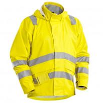 Palosuojattu sadetakki, keltainen