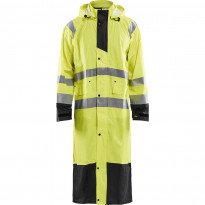 Pitkä sadetakki Blåkläder 4325 Highvis, huomiokeltainen/musta