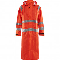Pitkä sadetakki Blåkläder 4325 Highvis, huomio-oranssi