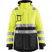 Naisten talviparka Blåkläder 4472 Highvis, huomiokeltainen/musta