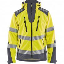 Softshell-takki Blåkläder 4491 Highvis, huomiokeltainen/harmaa