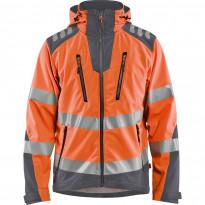 Softshell-takki Blåkläder 4491 Highvis, huomio-oranssi/harmaa