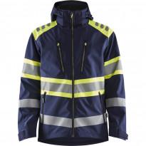 Softshell-takki Blåkläder 4494 Highvis, mariininsininen/huomiokeltainen