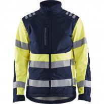Softshell-takki Blåkläder 4497 Highvis, mariininsininen/huomiokeltainen