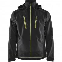Softshell-takki Blåkläder 4749, musta/keltainen