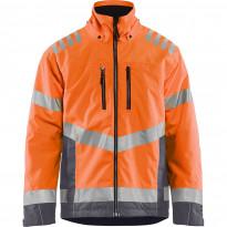 Talvitakki Blåkläder 4780 Highvis, huomio-oranssi/sininen