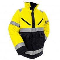 Highvis talvitakki, keltainen/musta (482819003399)