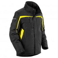 Talvitakki, musta/keltainen