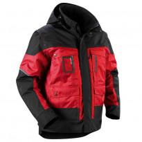 Talvitakki Blåkläder 4886, punainen/musta
