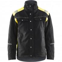 Talvitakki Blåkläder 4915, musta/keltainen