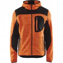 Softshell-takki Blåkläder 4930, huomio-oranssi/musta