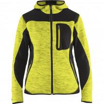 Naisten softshell-takki Blåkläder 4931, keltainen/musta