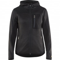 Naisten softshell-takki Blåkläder 4931, tummanharmaa/musta