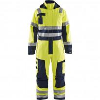 Palosuojattu talvihaalari Blåkläder 6368 Multinorm, huomiokeltainen/sininen